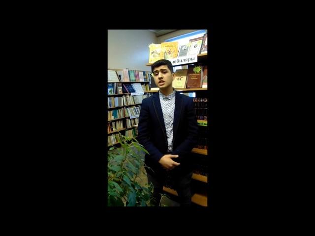 Изображение предпросмотра прочтения – МирзаГасанов читает произведение «Прощай, Баку!» С.А.Есенина