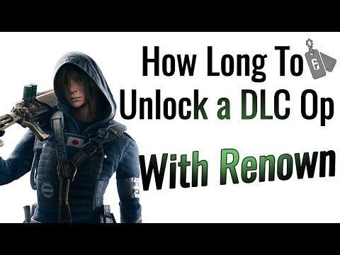 How Long It Takes to Unlock a DLC Operator (UPDATED) - Rainbow Six Siege