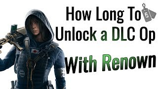 How Long It Takes to Unlock a DLC Operator (UPDATED) - Rainbow Six Siege thumbnail