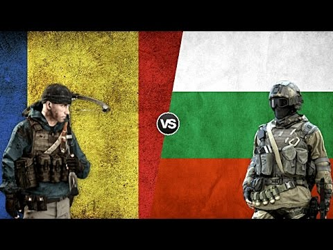 ROMANIA VS BULGARIA - Military Power Comparison 2017
