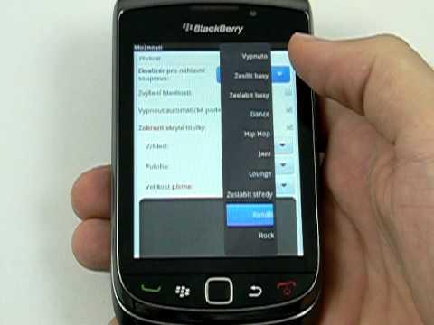 Stáhnout háček pro blackberry