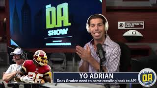 Jay Gruden now has to beg Adrian Peterson for forgiveness I D.A. on CBS