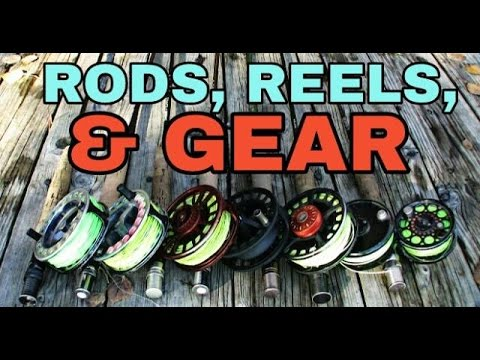 My Budget Rod, Reel, & Gear Collection For Fishing In 2017, Plus MORE COMING!