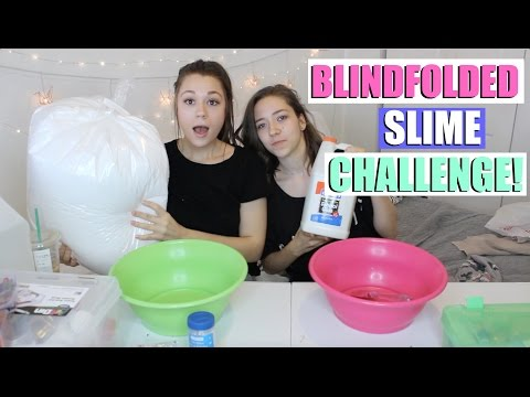 "GIANT BLINDFOLDED SLIME CHALLENGE WITH MY SISTER?!😭😂 + HUGE ""I'M SORRY"" GIVEAWAY"