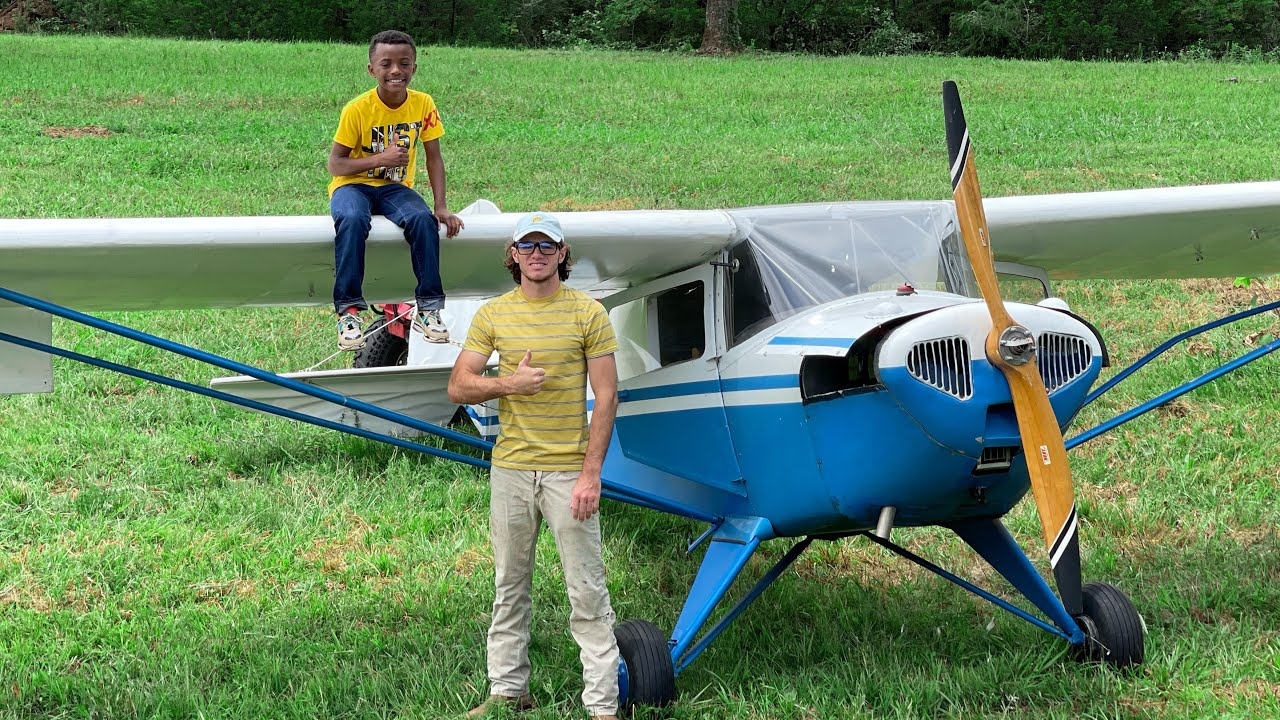 Teaching a very very young adult over 18 how to fly a plane