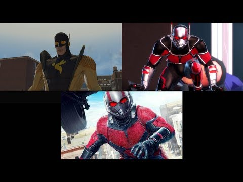 Evolution of Antman/Yellowjacket in Marvel Ultimate Alliance Games (2006 - 2019)