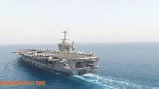 Carrier USS Harry S Truman Operating in the Atlantic as Russian Submarine Activity is on the Rise