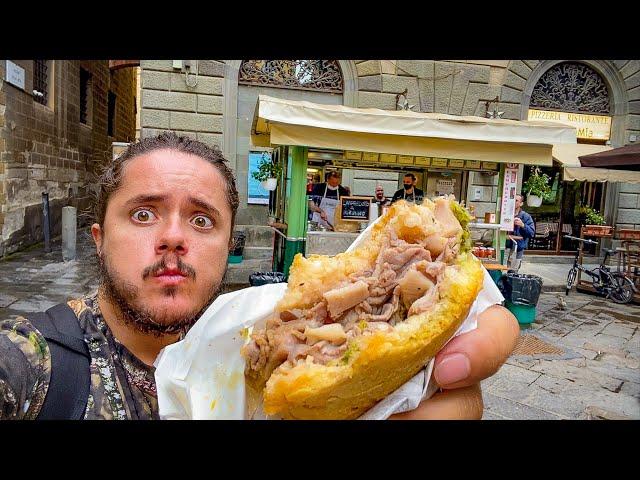 non avevo mai mangiato il LAMPREDOTTO (Firenze street food)