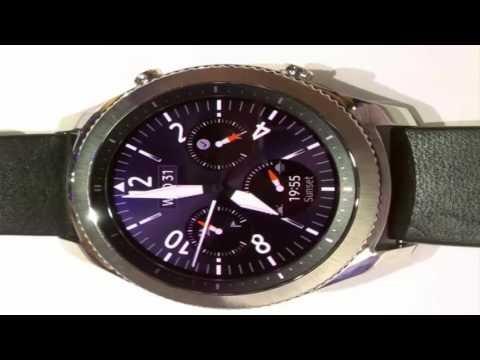 Samsung's New Gear S3 Smartwatches