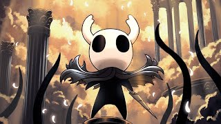 Attempting to Beat the Absolute Radiance in Hollow Knight Live