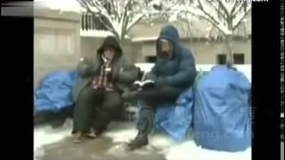 Репортаж северокорейского телевидения об ужасающих реалиях жизни в США  «Америка сегодня — это бедно