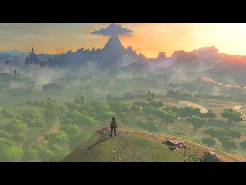 Zelda: Breath of the Wild — 3 Minutes of Gameplay (Japanese)