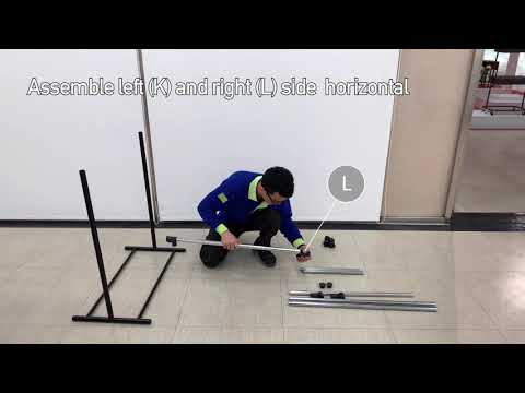 MAINSTAYS 2 TIER ADJUSTABLE GARMENT RACK (Assembly Video)