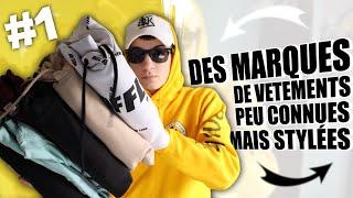 DES MARQUES DE VÊTEMENTS PEU CONNUES MAIS STYLÉES !