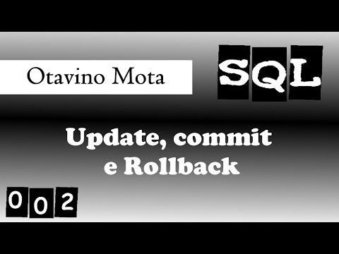 Tutorial SQL - 002 [update, commit, rollback]