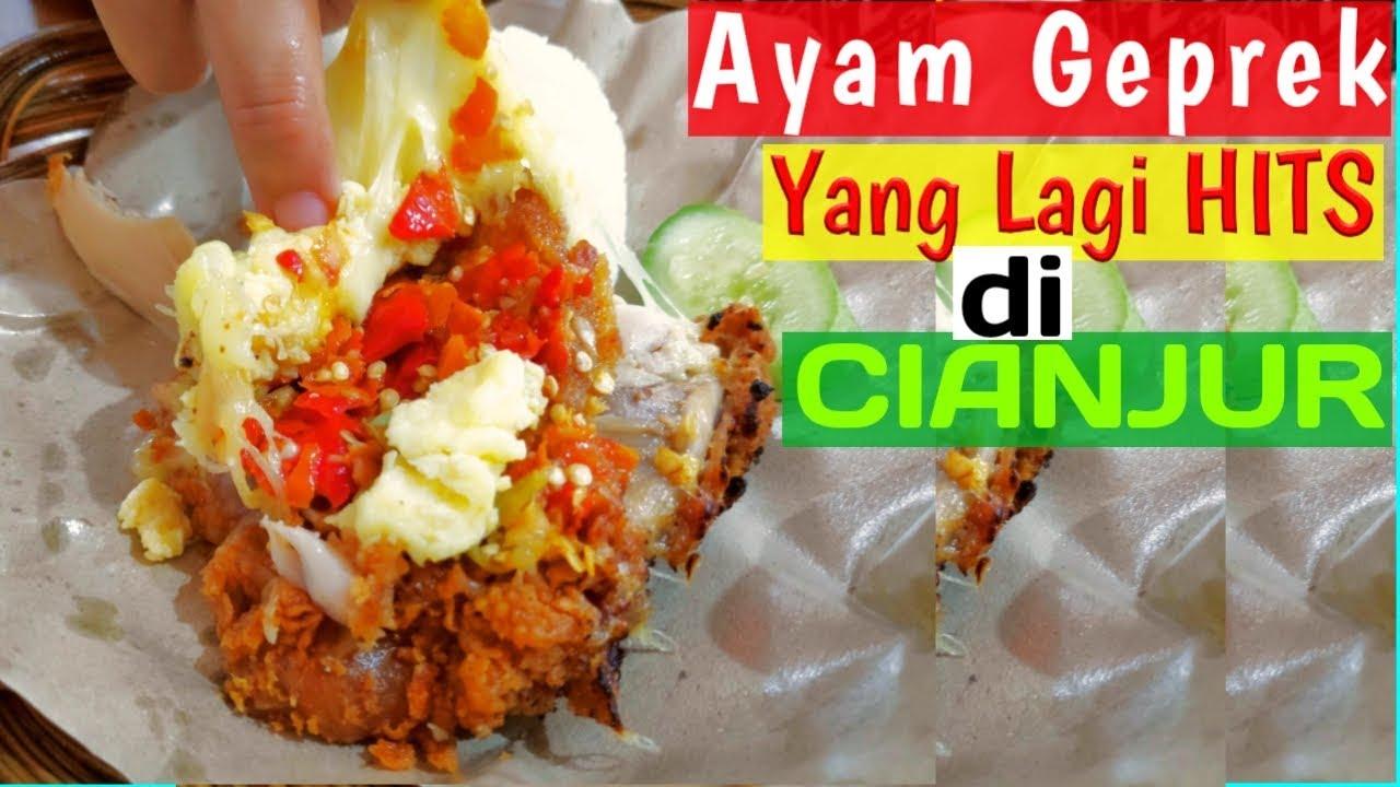 Kuliner Cianjur Ayam Geprek Yang Lagi Hits Di Cianjur Geprek Bensu Cianjur