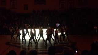 Stonehill College Dance Team - MIDNIGHT MADNESS 2013