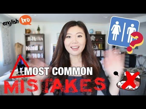 8 MOST COMMON ENGLISH MISTAKES NON-NATIVE SPEAKERS MAKE!