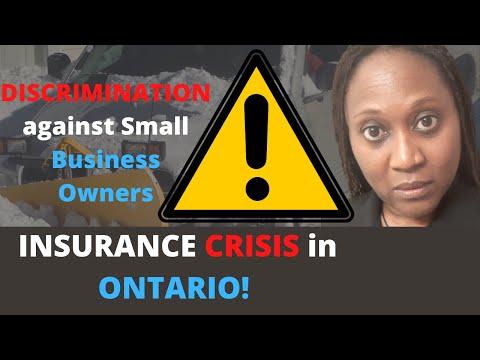 Insurance Crisis In Ontario