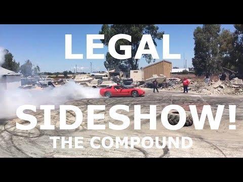 LEGAL Sideshow NO COPS! SACRAMENTO CA