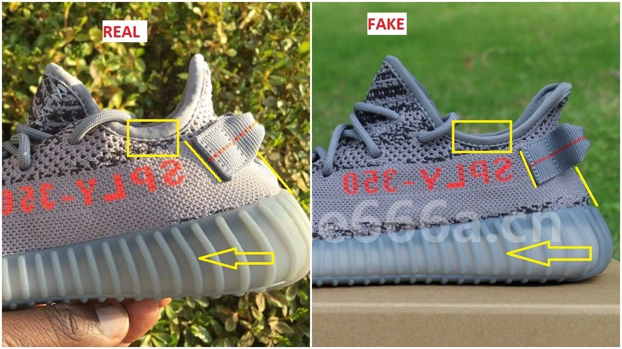 a8860fc89 Fake Adidas Yeezy 350 V2 Beluga 2.0 Spotted-Quick Ways To Identify Them