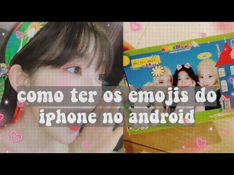 COMO TER EMOJI DO IPHONE NO ANDROID😱😱