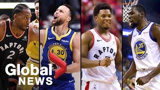 NBA Finals Media Day: Toronto Raptors & Golden State Warriors