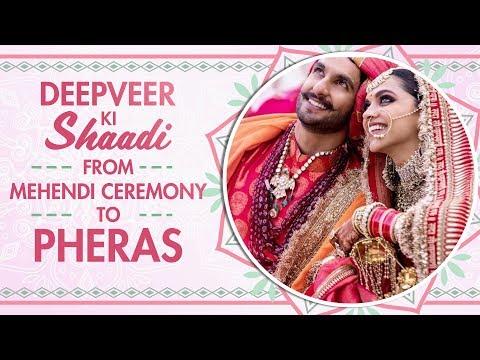 Deepika Padukone and Ranveer Singh wedding: Pictures from Mehendi, Konkani, and Sindhi ceremonies