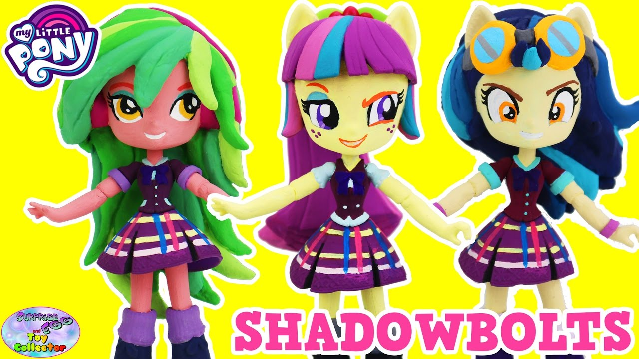 Custom My Little Pony Equestria Girls Minis Shadowbolts