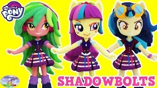 CUSTOM My Little Pony Equestria Girls Minis Shadowbolts Dolls Surprise Egg and Toy Collector SETC