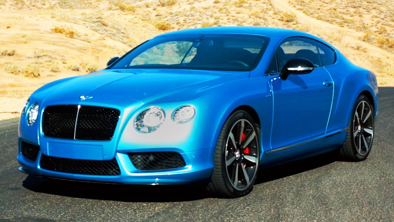 Track Time 2014 Bentley Continental Gt V8 S World S