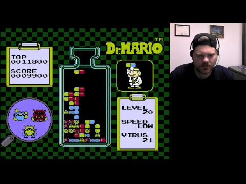 Dr. Mario - Level 20 | VGHI Play 'n' Chat Live Stream
