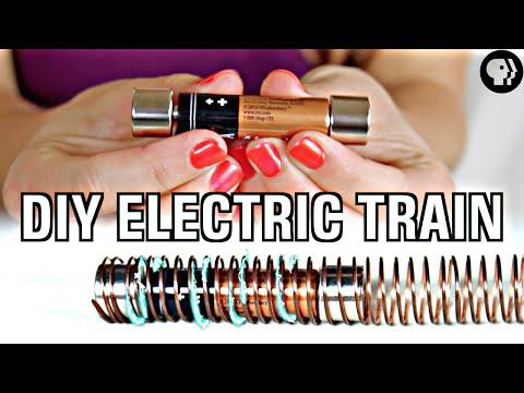 World's Easiest DIY Electric Train