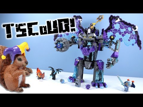 LEGO NEXO Knights The Stone Colossus of Ultimate Destruction Speed Build Review 70356