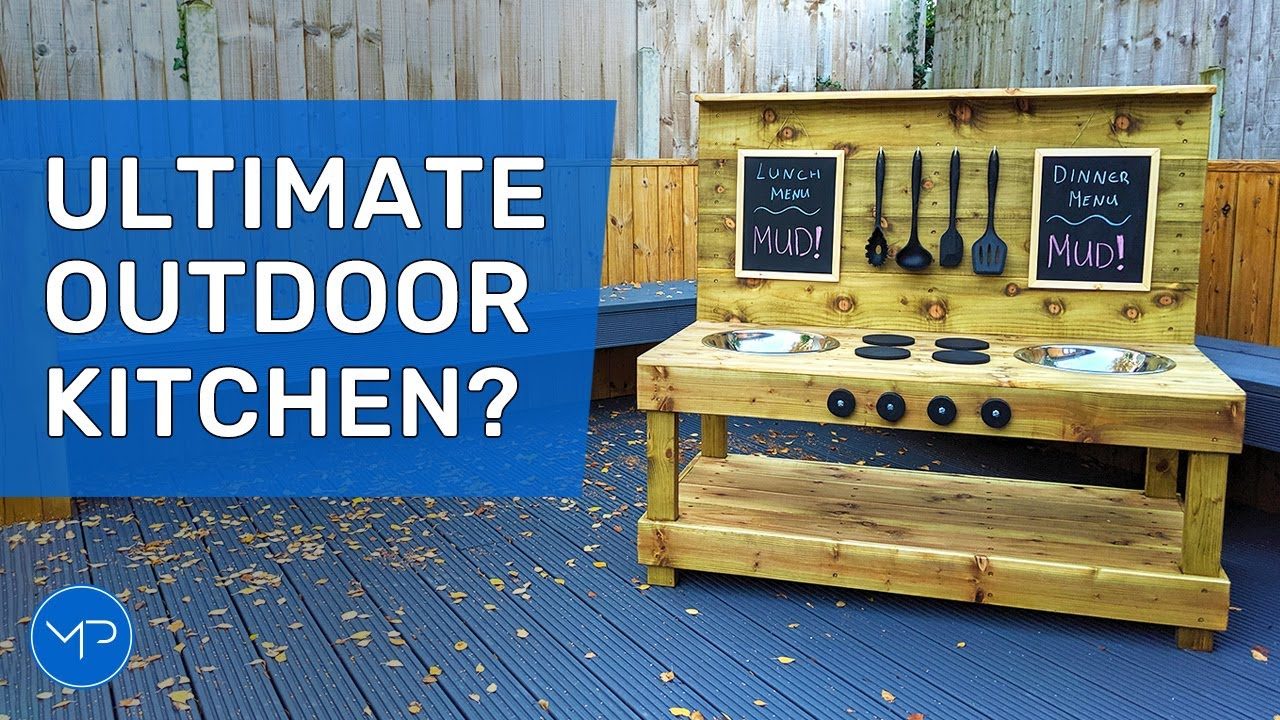 How To Build An Outdoor Kitchen Diy Woodworking Youtube