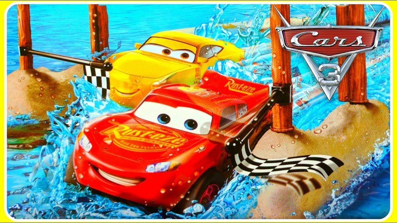 Disney Cars  Water Toys