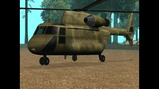 GTA San Andreas  - How to get the cargobob