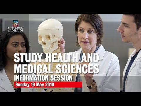 Discover Your Future In Health At Adelaide | Health And Medical Sciences