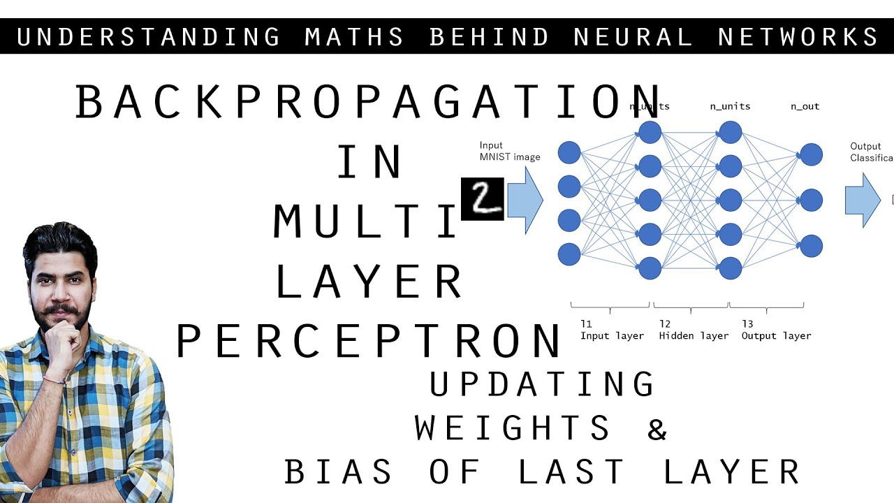 Backpropagation In MLP - Updating Weights And Bias (Machine Learning-Deep Learning)