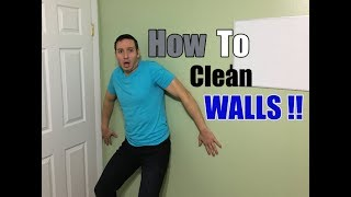 How To Clean Walls | Remove Nicotine, Tar, Crayons & Greasy Fingerprints