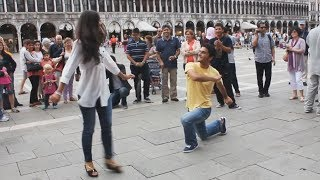 Грузины танцуют в Италии | რაჭული ცეკვა იტალიაში