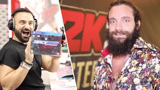 Elias' favorite part of WWE 2K20: Behind the Scenes of Dubai Launch