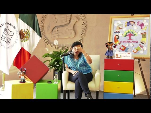 Discurso de Nashieli Ramírez en la presentación de Infancias Encerradas Alcaldía Iztapalapa