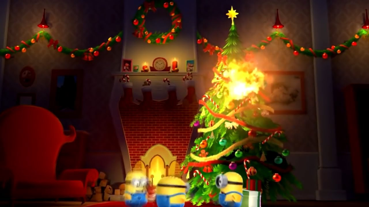 minions christmas tree burned the house down - Minions Christmas Tree