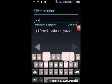 Google Play Hesap Açma İşlemi