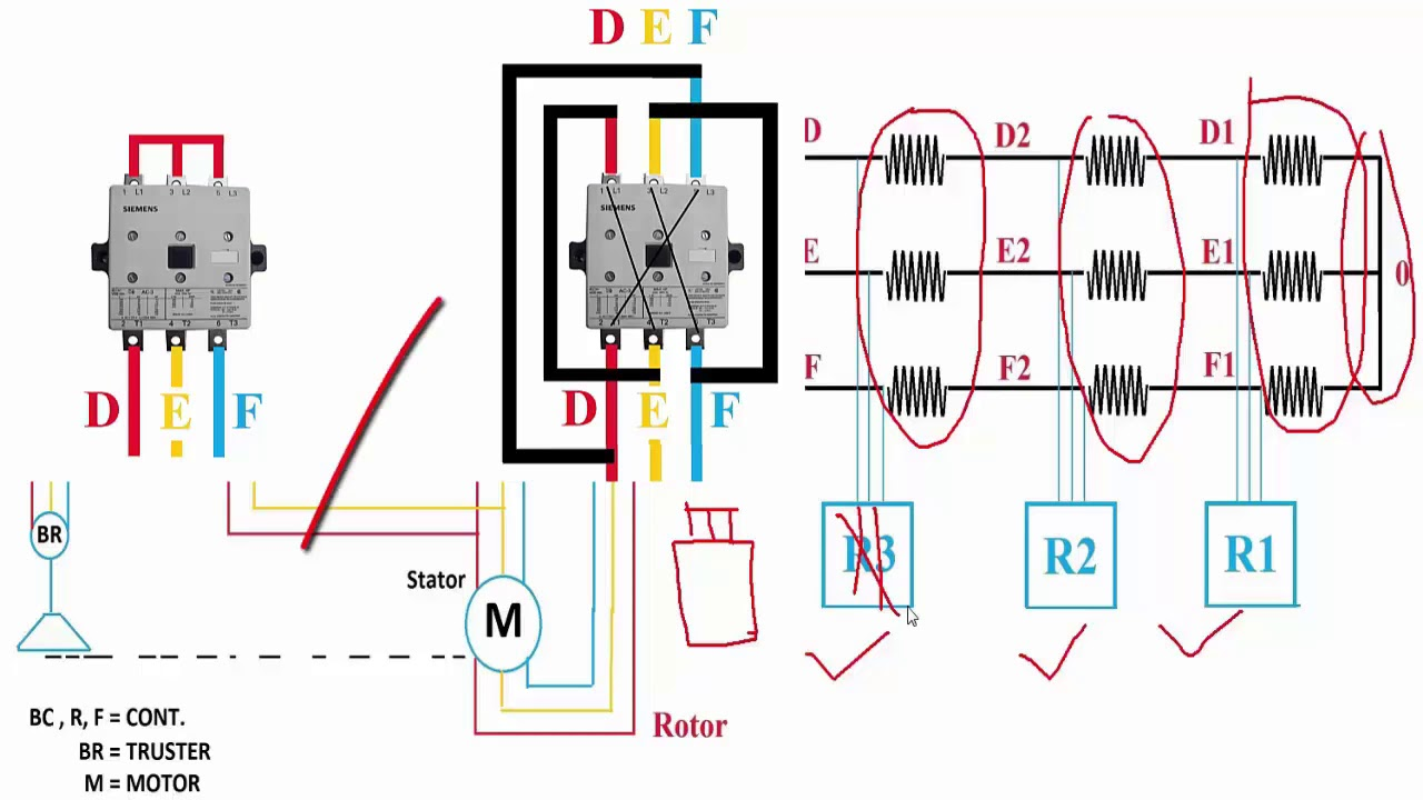 overhead crane electrical wiring diagram 1994 acura integra alarm or eot power youtube