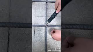 철근바인딩후크, 철근결속기