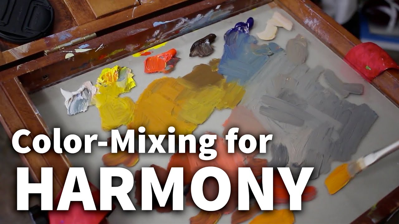 Color Mixing For Harmony