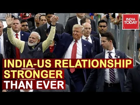 Prez Donald Trump Claims India-US Relationship Stronger Than Ever At 'Howdy Modi' Event