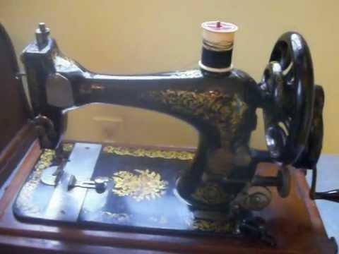 40 SINGER 40 VS40 Hand Crank SEWING MACHINE W Case EXTRAS SALE Best Hand Crank Sewing Machines For Sale